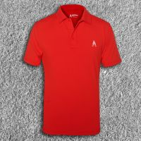 Mens Performance Polo Red
