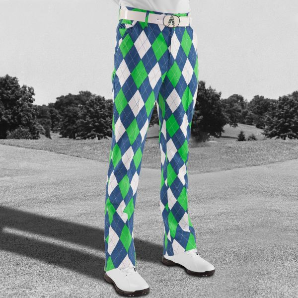 Blues on the Green Pants