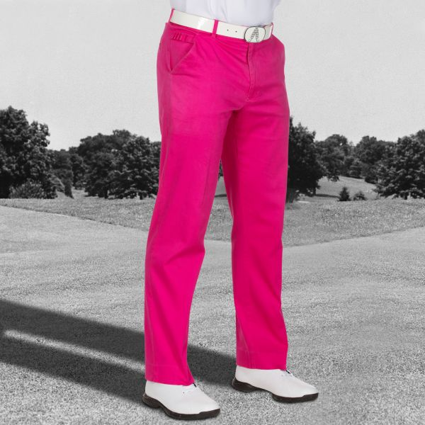 Pink Ticket Golf Trousers